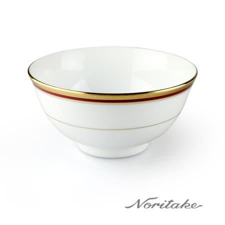 【NORITAKE】華漾風華金邊麵碗(16cm)