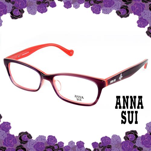 Anna Sui 安娜蘇 祕密花園浪漫紫蝶 眼鏡^(橘紅^) AS514~1706