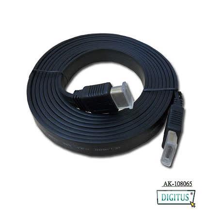 曜兆DIGITUS HDMI~AK-108065扁平線1.3b 平板線3m