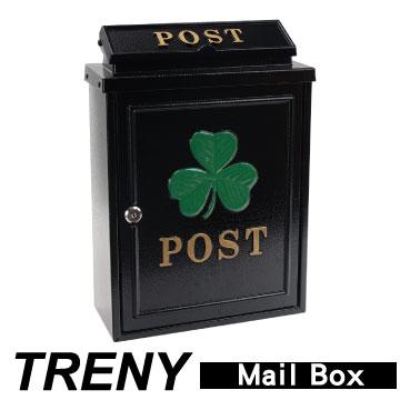 美式 信箱~幸運草