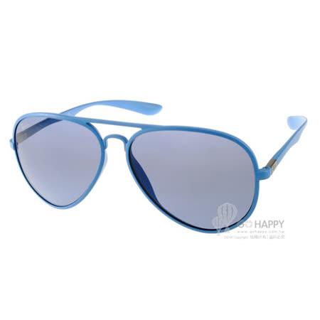 RayBan太陽眼鏡 百搭經典款(藍) #RB4180 60848F -58mm