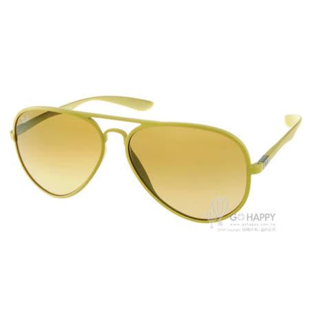 RayBan太陽眼鏡 百搭經典款(黃) #RB4180 60852L -58mm