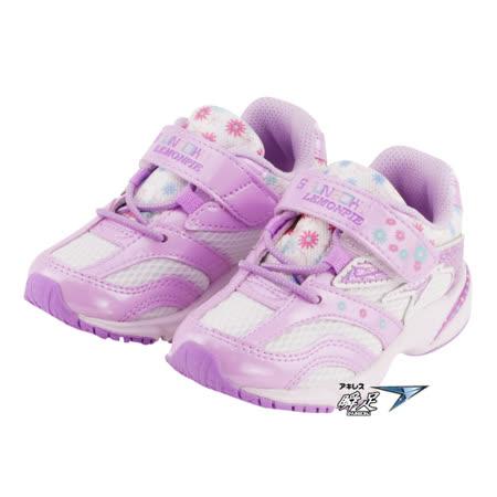 Achilles日本瞬足 童鞋 小中童段 正常型 姚窕系列-紫 A6S9-ELEC2721