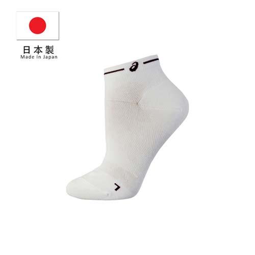 (男) ASICS台南 太平洋 sogo 日本製長距離跑襪-慢跑 路跑 鐵人三項 襪子 短襪 亞瑟士 白黑