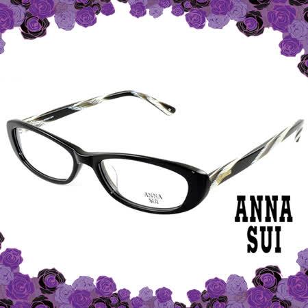 Anna Sui 安娜蘇 經典薔薇花園造型眼鏡(黑色) AS511099