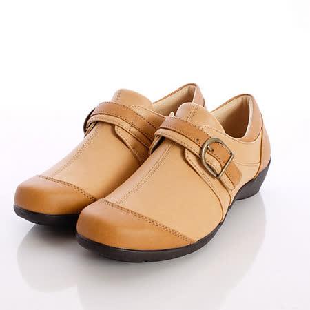 日本輕熟女機能鞋-月星EVE健康機能鞋-EVE223CA8卡其(22.5cm-25cm)