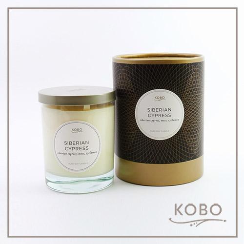 【KOBO】美國大豆精油蠟燭 - 西百利亞之柏 (330g/可燃燒80hr)