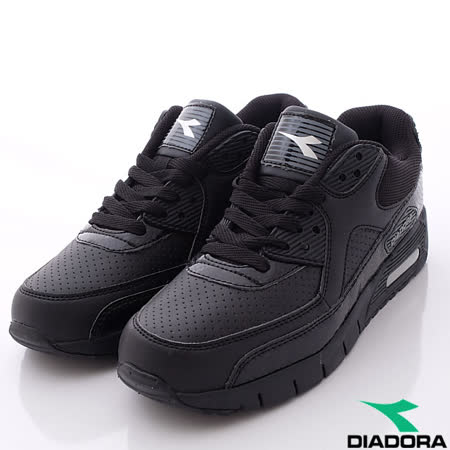 DIADORA義大利國寶鞋-透氣輕量慢跑鞋經典款-MC2870黑(男段)-(25cm-29cm)
