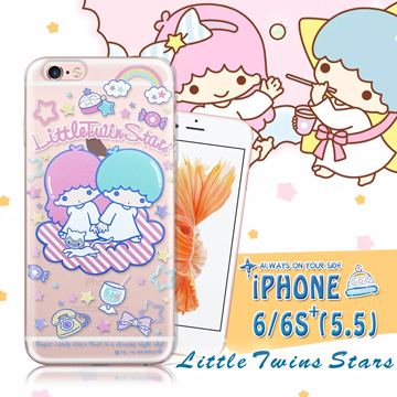 三麗鷗  雙子星仙子KiKiLaLa iPhone 66s plus i6s 5.5吋 透