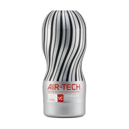 日本TENGA AIR-TECH 重複使用 控制器兼容版 空氣飛機杯 VC銀灰極大款