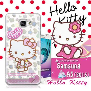 三麗鷗SANRIO  Hello Kitty凱蒂貓 Samsung Galaxy A5 ^