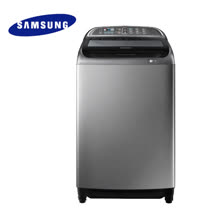 Samsung 三星 WA16J6750SP 雙效手洗16公斤直立洗衣機(銀) 原廠公司貨