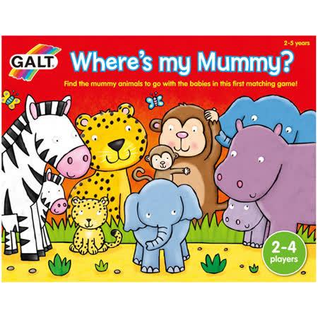 英國GALT桌遊-媽咪在哪裡
