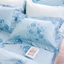 OLIVIA 《露西亞》單人床包歐式枕套兩件組 鄉村公主房