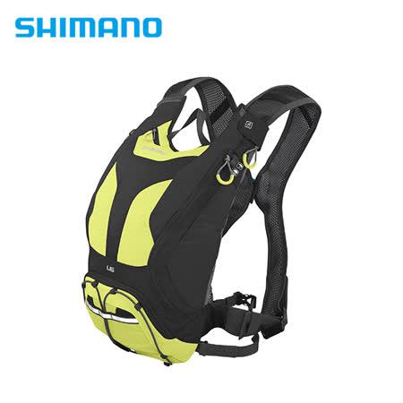 SHIMANO UNZEN 登山車背包 無水袋 6L 萊姆黃
