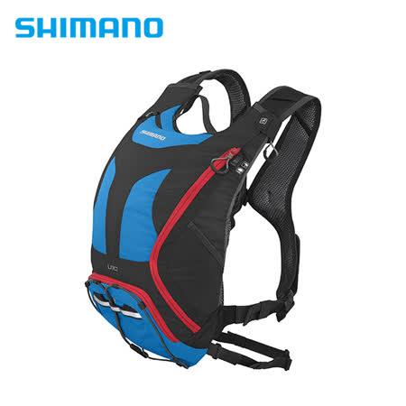 SHIMANO UNZEN 登山車背包 無水袋 10L 英國藍