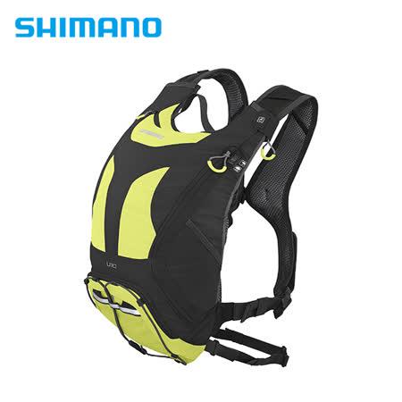 SHIMANO UNZEN 登山車背包 無水袋 10L 萊姆黃