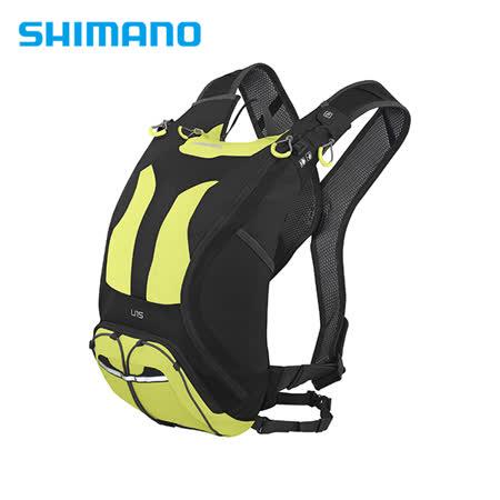 SHIMANO UNZEN 登山車背包 無水袋 15L 萊姆黃