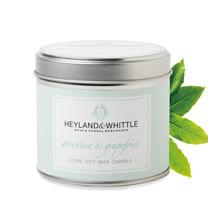 H&W英倫薇朵 葡萄柚綠茶香氛燭罐 180g