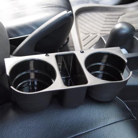 汽車椅縫多功能飲料置物架 (清潔 收納 車充 飲 垃圾桶)