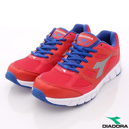 DIADORA義大利國寶鞋-220g輕盈D楦頭慢跑鞋款-MR3002紅(男段)(25cm-29cm)