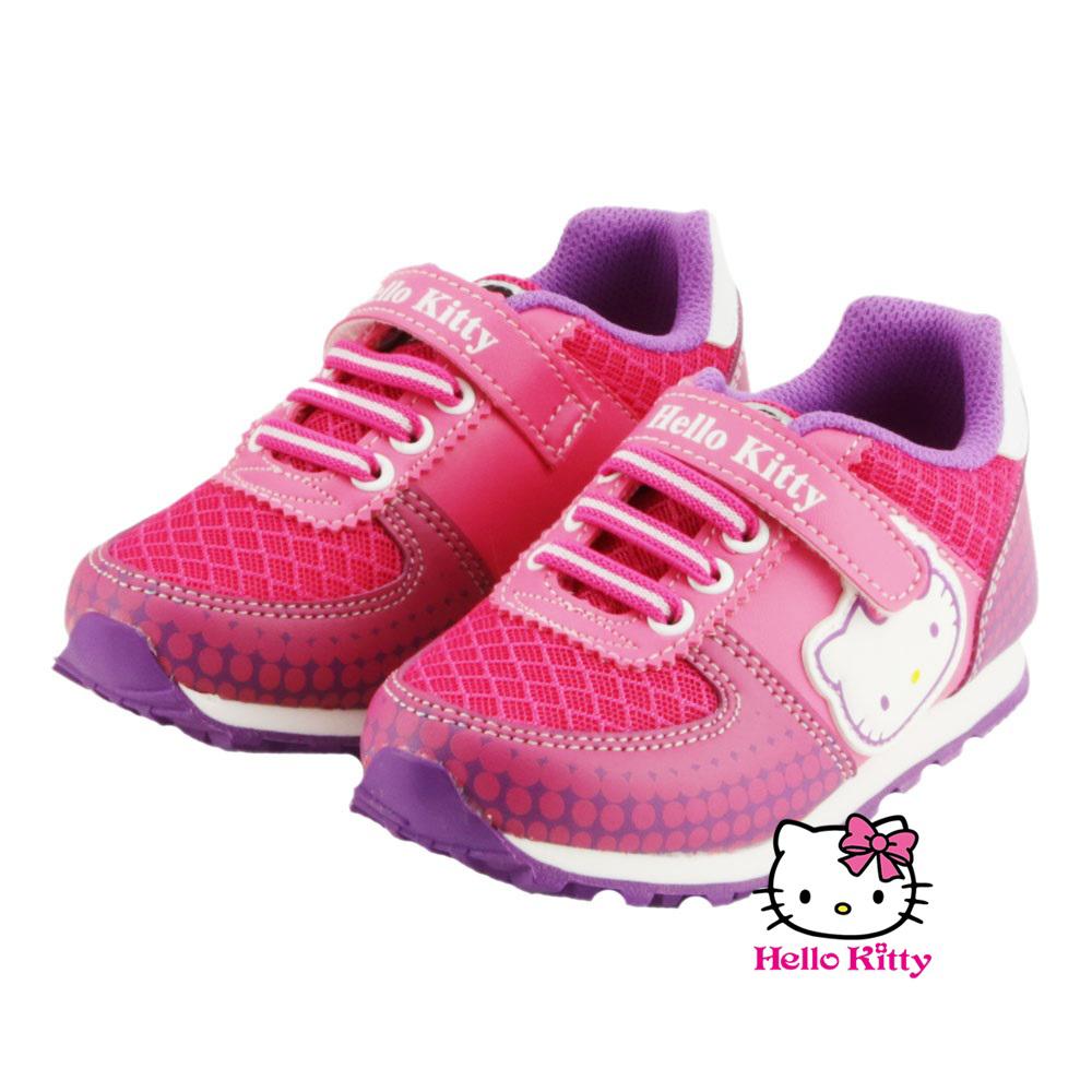 ~MODAbobo~Hello Kitty 中大童段 可愛休閒鞋~桃 T6S8~71623