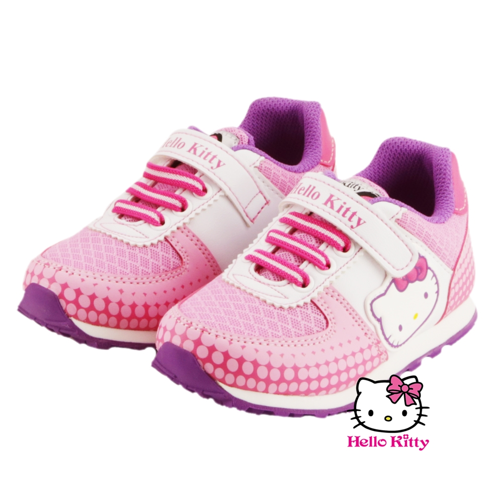 ~MODAbobo~Hello Kitty 中大童段 可愛休閒鞋~粉 T6S8~71623