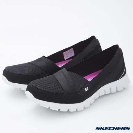 SKECHERS (女) 時尚休閒系列 EZ Flex 2 - 22672BKW