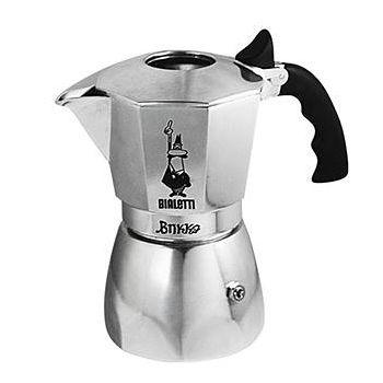 義大利Bialetti 加壓摩卡壺BRIKKA4杯份 +登山爐架組