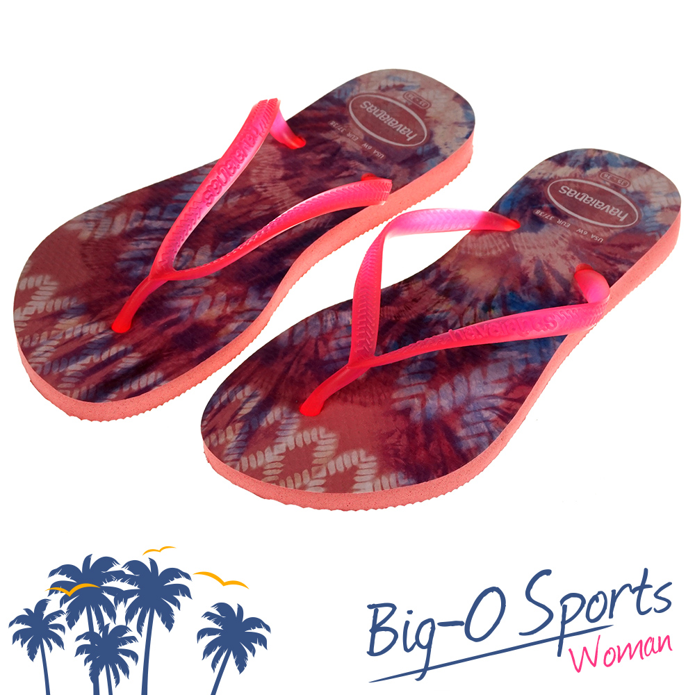 ~Havaianas~哈瓦仕 細帶 渲染款 巴西拖 沙灘拖鞋 女 HF6F2595P3 B