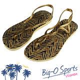 【Havaianas】哈瓦仕 細帶 珠光 巴西拖 沙灘拖鞋 女 HF6F2933Y4 Big-O SPORTS