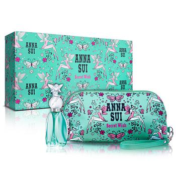 Anna Sui 安娜蘇 許願精靈風采禮盒(淡香水30ml+手拿包)