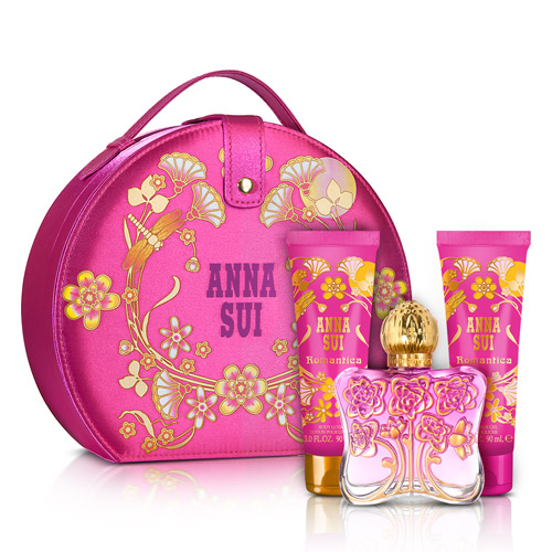 Anna Sui 安娜蘇 安娜花園風采禮盒(淡香水30ml+手拿包)