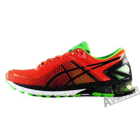 ASICS (男) 亞瑟士 GEL-KINSEI 6 慢跑鞋 紅-T642N0990