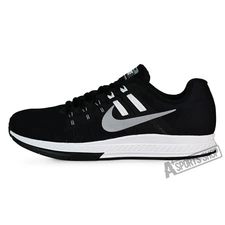 NIKE (男) 耐吉 AIR ZOOM STRUCTURE 19 FLASH 慢跑鞋 黑-806578001