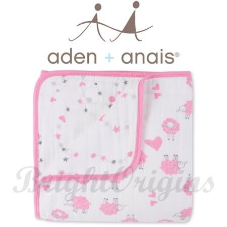 美國Aden+Anais 純棉四層厚毯 羊年寶寶限量款R600