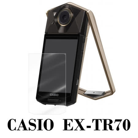 D&A CASIO EXILIM EX-TR70相機專用日本原膜HC螢幕保護貼(鏡面抗刮)