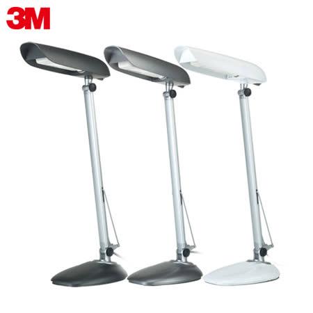 福利品-【3M】58度LED博視燈GL6000單臂桌夾兩用燈(古典灰)