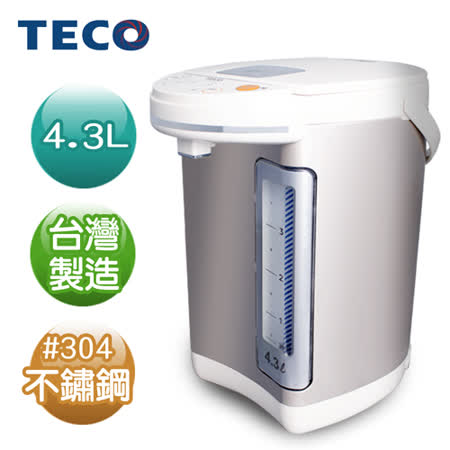 TECO東元 4.3L電熱水瓶 YD4301CB