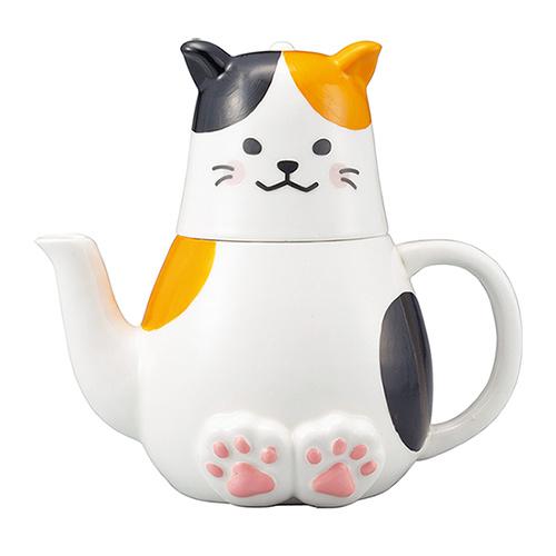 sunart 杯壺組 ~ 三色貓