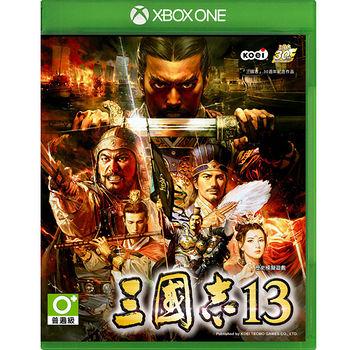 Xbox One三國志13一般版_送30周年紀念撲克牌+白羽扇