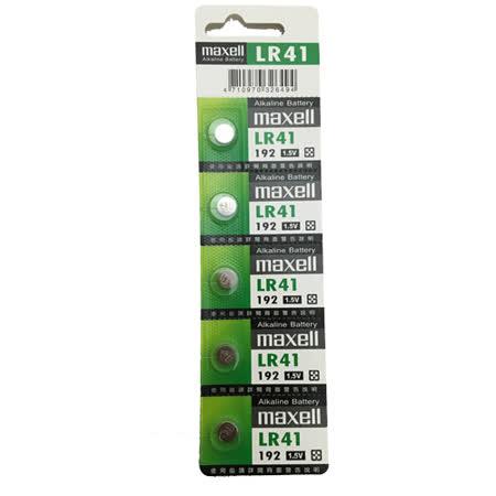 日本品牌水銀電池 maxell LR41(二卡10入)