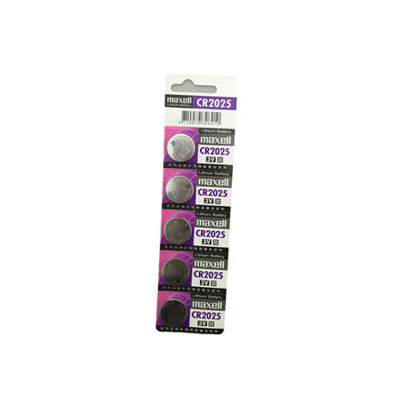 日本品牌水銀電池 maxell CR2025(一卡10入)