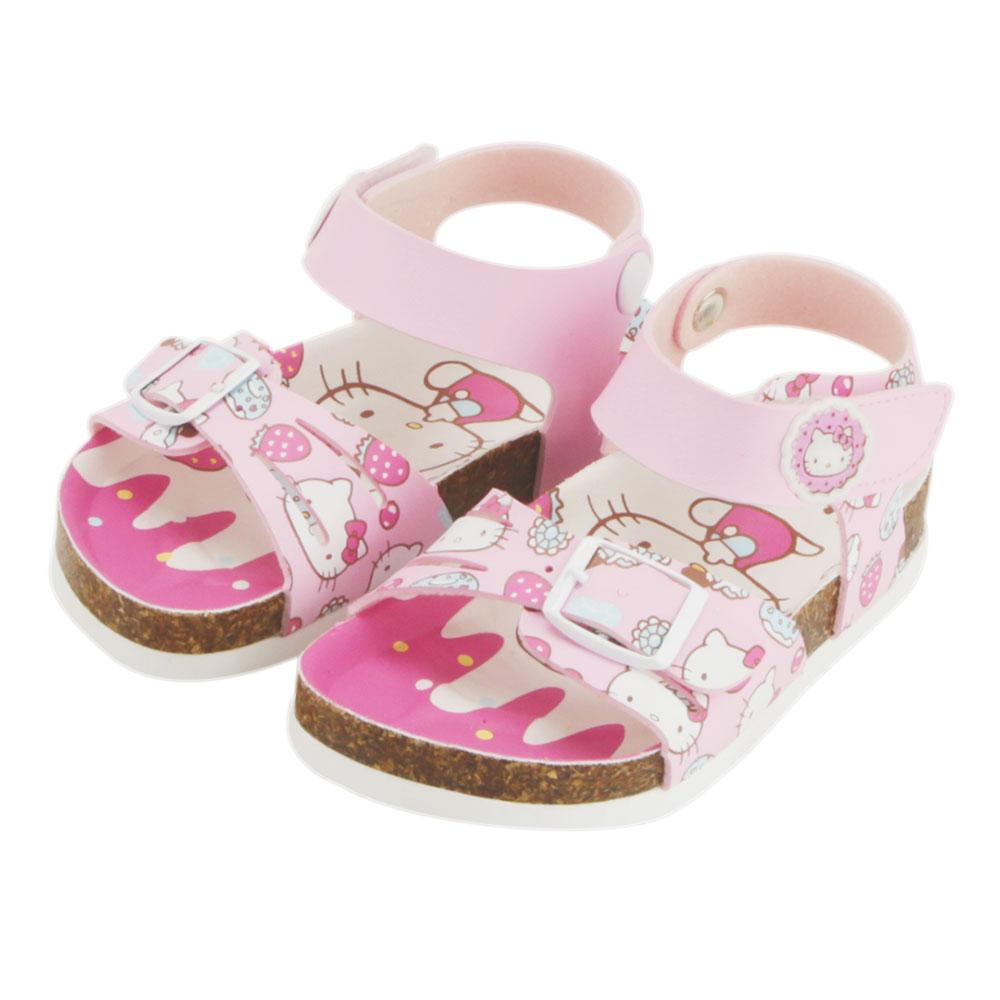 ~MODAbobo~Hello Kitty 小中童段 繽紛涼鞋~粉 T5S2~815735