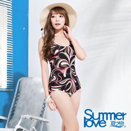 【SUMMERLOVE 夏之戀】大女連身三角泳裝(E15790)