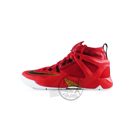 NIKE 男 耐吉 Nike Ambassador VIII LeBron James 籃球鞋 紅/金818678601