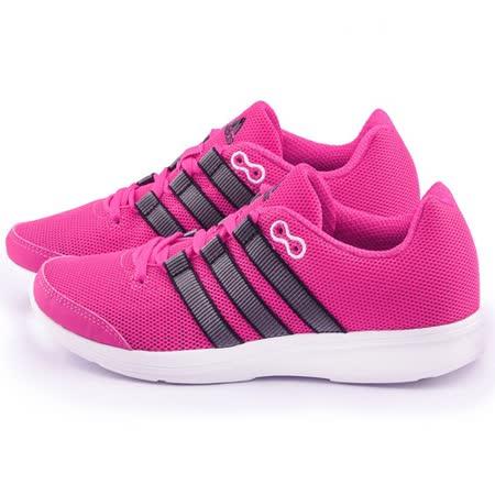 Adidas 女款 LITE RUNNER W 輕量慢跑鞋AF5301-紫