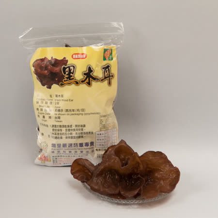 【埔里菇寶】-台灣小木耳150g/包*2