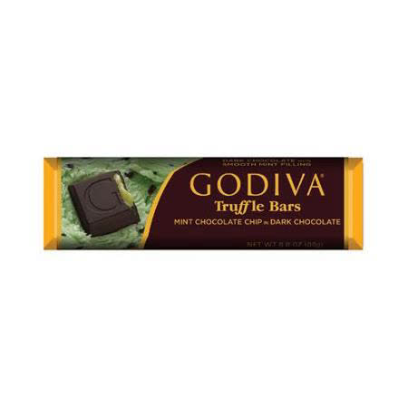 【GODIVA】頂級巧克力條- 薄荷黑巧克力 43g