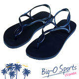 【Havaianas】哈瓦仕 細帶 珠光 巴西拖 沙灘拖鞋 女 HF6F9697U9 Big-O SPORTS